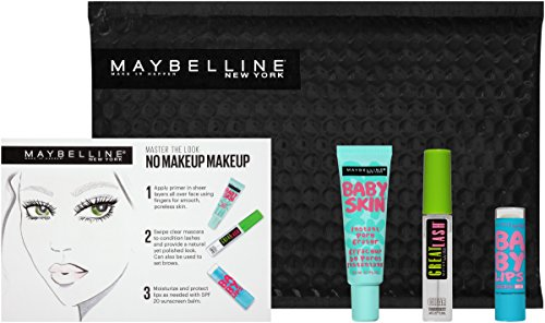 Maybelline New York Ny Minute Prime Gloss Mascara Prep Gift Set, No Makeup Makeup