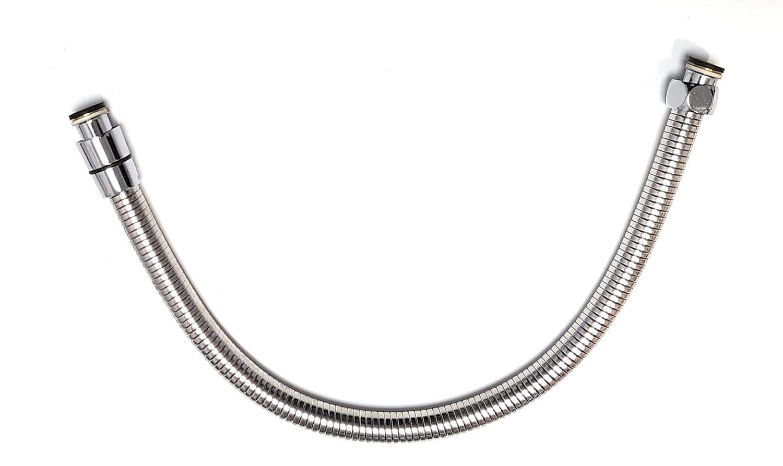 Extendible Stainless Steel Shower Hose 50 cm 1/2' (50 to 65 cm) Ducha2