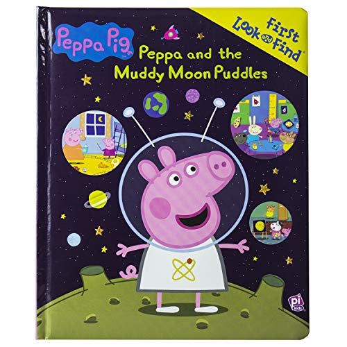 Peppa Pig - Peppa and the Muddy Moon Puddles - First Look and Find ()
