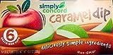 Simply Concord Caramel Dip-6 (six) 1.8oz Tubs-Non GMO