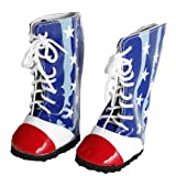 Red White and Blue Boots for 18 Inch Dolls Like American Girl, Baby & Kids Zone