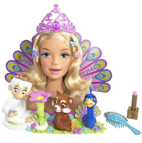 Barbie as the Island Princess: Princess Rosella Talking and Singing Styling Head -