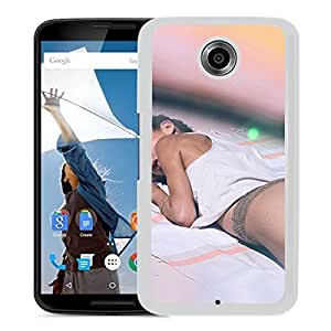 Unique Designed Cover Case For Google Nexus 6 With He Girl Beach Sexy Summer (2) Phone Case