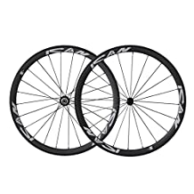 ICAN 38mm Road Bike Clincher Wheelset Carbon Shimano 10/11 Speed Cassette Compatibility 20/24 Holes