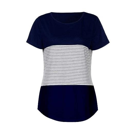 38942fcd8f6b44 Ba Zha HEI New Mode Frauen Brief Bluse T-Shirt Kurzarm lose Modisch Damen T- Shirt Rundhals Kurzarm Ladies Sommer Oberteil Locker Bluse Sommer Weiß  Schwarz ...