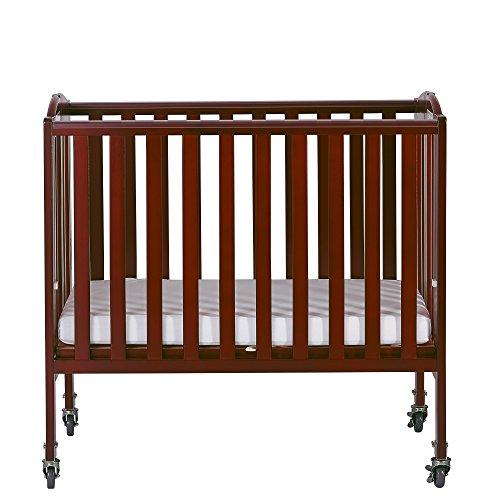Dream On Me 2-in-1 Folding Birch Portable Crib, ()