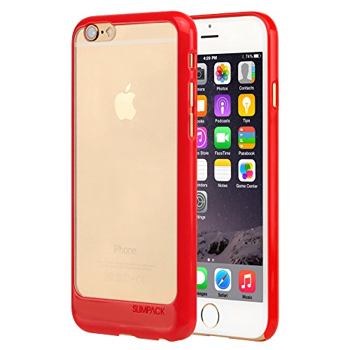 Slimpack Line Case for Apple iPhone 6 (Red Chrome)
