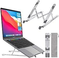 ノートパソコン スタンド PCスタンド 折りたたみ式 タブレットスタンド 7段階高さ・角度調整可能