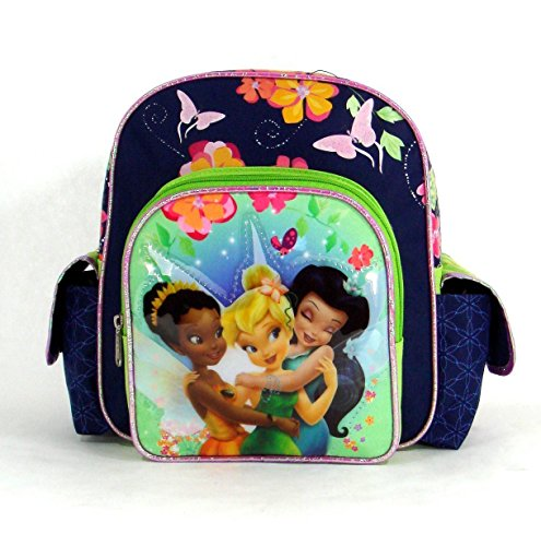 (Disney Fairies Backpack - Ride the Breeze - 10in Tinker Bell  Mini Backpack Featuring Tinker Bell and Her Friends)