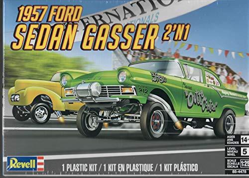 (Revell 4478 1957 Ford Sedan Gasser 2N1 Model Car Kit)