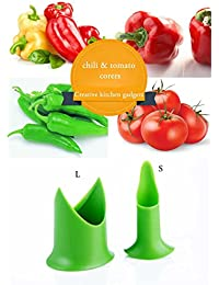 CheckOut New Nordic Creative Kitchen gadgets chili tomato corers fruit & vegetable pepper compare