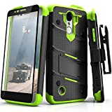 zizo bolt for note edge - LG Aristo Case, Zizo [Bolt Series] w/ FREE [LG Aristo Screen Protector] Kickstand [12 ft. Military Grade Drop Tested] Holster Belt Clip - LG Fortune