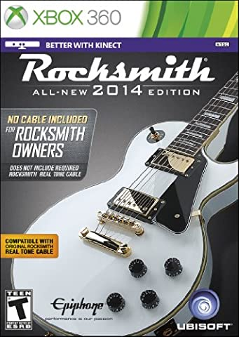 Rocksmith 2014 Edition - No Cable Included for Rocksmith Owners (Playing It Cool Dvd 2014)