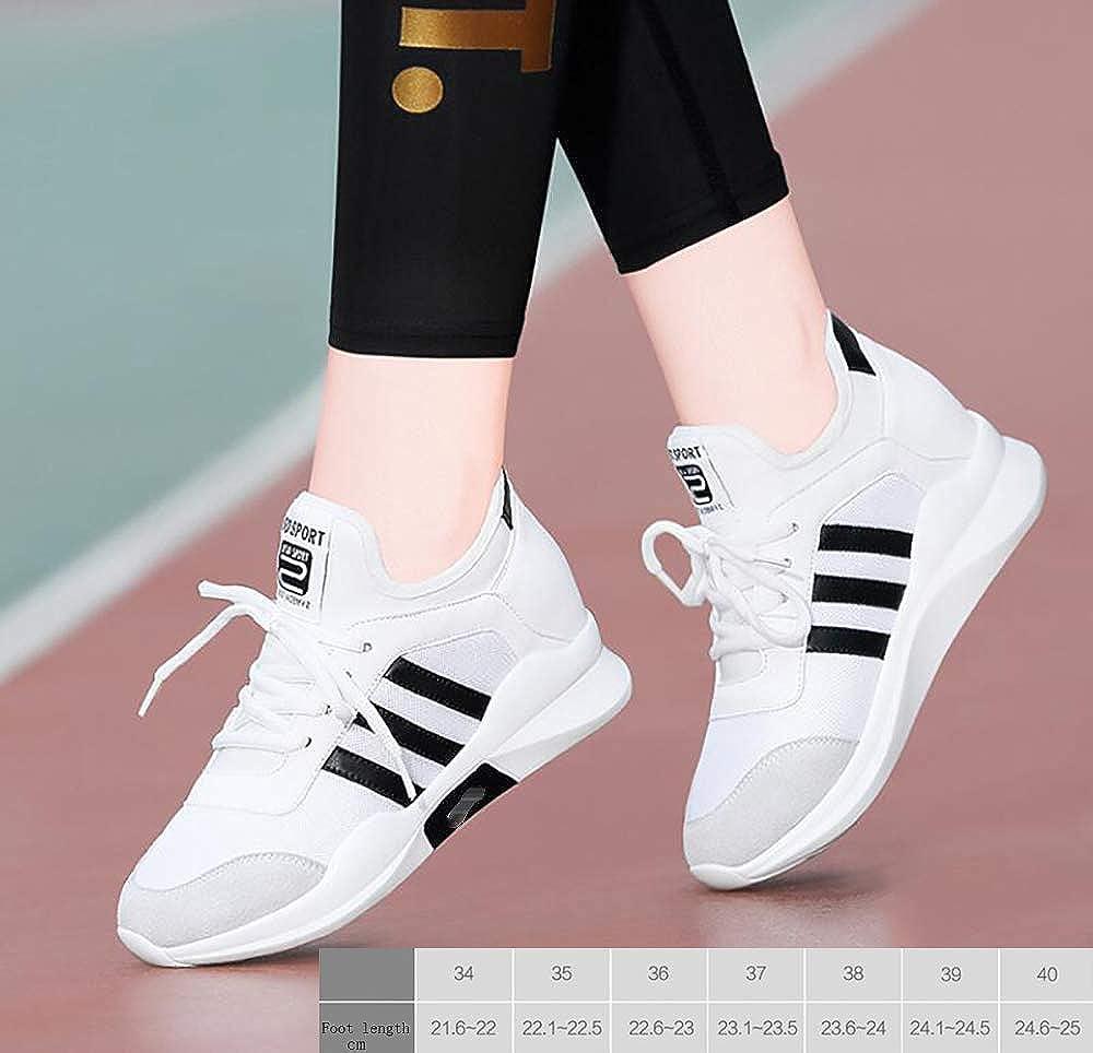 Innen erhöht Sportschuhe Sportschuhe erhöht Frauen Freizeitschuhe leichte Laufschuhe c89105