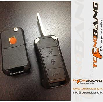 Carcasa para llaves cover Porsche Cayenne S GT GTS GT3 Turbo Carrera 911: Amazon.es: Coche y moto