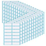 Willbond File Folder Labels Name Label Adhesive Filing Envelopes Tags Bottle Cup White Rectangle Label Price Stickers, 0.5 x 1.5 Inch, Pack of 336 (24)
