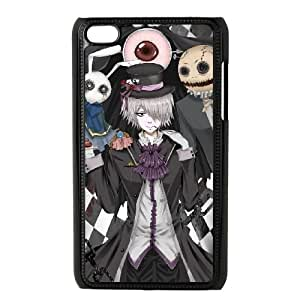iPod Touch 4 Case Black Pandora Hearts Characters F7628849