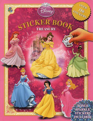 Disney Princess Treasury (Disney Princess Sticker Book Treasury)