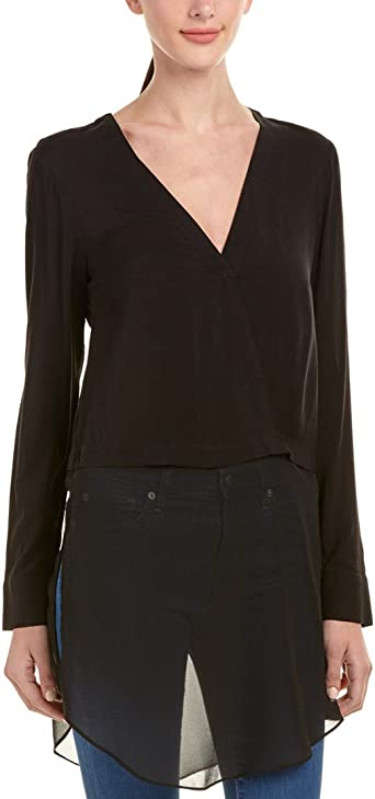 BCBGeneration Womens Chiffon Hem Jacket