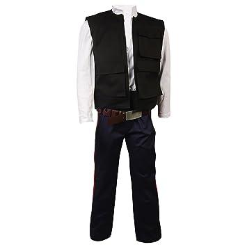 Star Wars New Hope ANH ha de Han Solo Cosplay Costume-Chaqueta ...