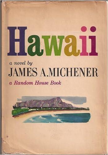 Hawaii: James Michener: Amazon.com: Books