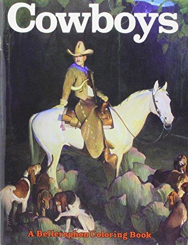 A Coloring Book of Cowboys