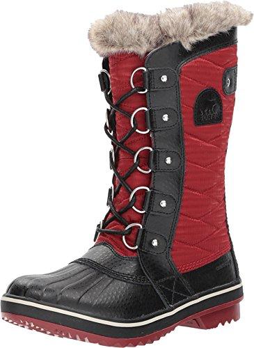 Sorel Women's Tofino II Red Element/Black 8 B US