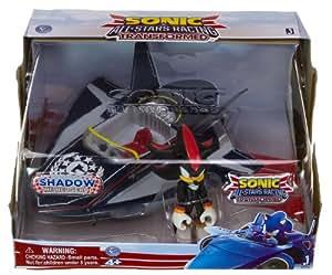 "Shadow ~6.5"" Racing Plane + ~3"" Mini-Figure: Sonic the Hedgehog All-Star Racing Vehicle Gift Set"