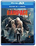RAMPAGE (3D) [Blu-ray] -  Rated PG-13, Brad Peyton, Dwayne Johnson