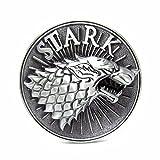 stark belt buckle - Game of Thrones STARK Logo Metal Enamel Belt Buckle