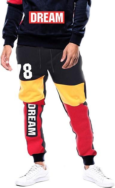 Sylar Pantalones Chandal Hombre Invierno Talla Grande, Moda ...