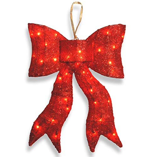 Outdoor Lighted Bows