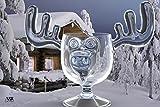 CHRISTMAS Eggnog Moose Mug - SINGLE Mug, Gift Boxed