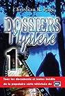 Dossiers mystère, tome 1 par Page