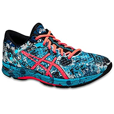 premium selection 50caa a47ca ASICS Men s GEL Noosa Tri 11 Running Shoe, Island Blue Flash Coral Black