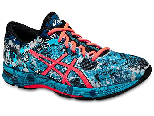 ASICS Men's GEL Noosa Tri 11 Running Shoe, Island Blue/Flash Coral/Black, 9.5 M US (Asics Running Shoes Gel Flash)