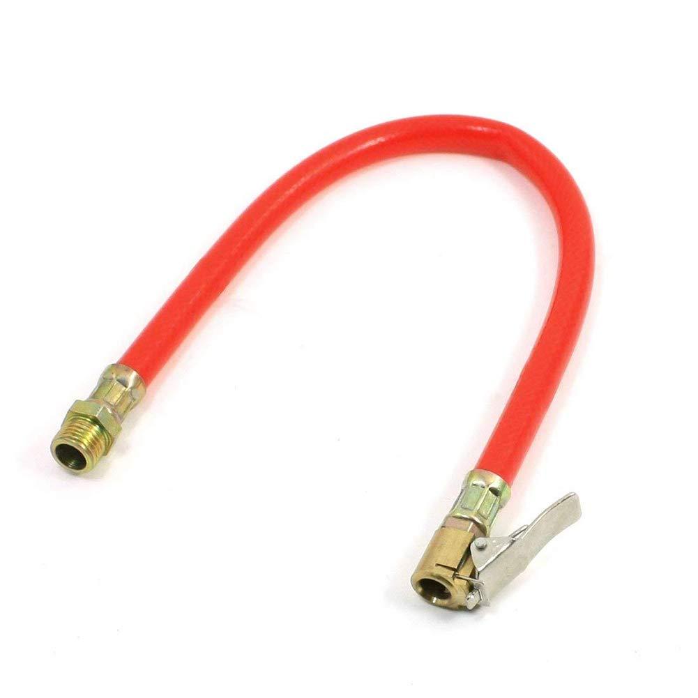 Rosso Newin Star Tubo Flessibile di gonfiaggio per Pneumatici Auto 8mm Tubo Flessibile di gonfiaggio Automatico per Auto Maschio 1 4PT per gonfiaggio Pneumatici