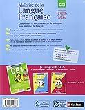 """Image of """"maîtrise de la langue française ; CE1 ; manuel de l'élève (édition 2009)"""""""