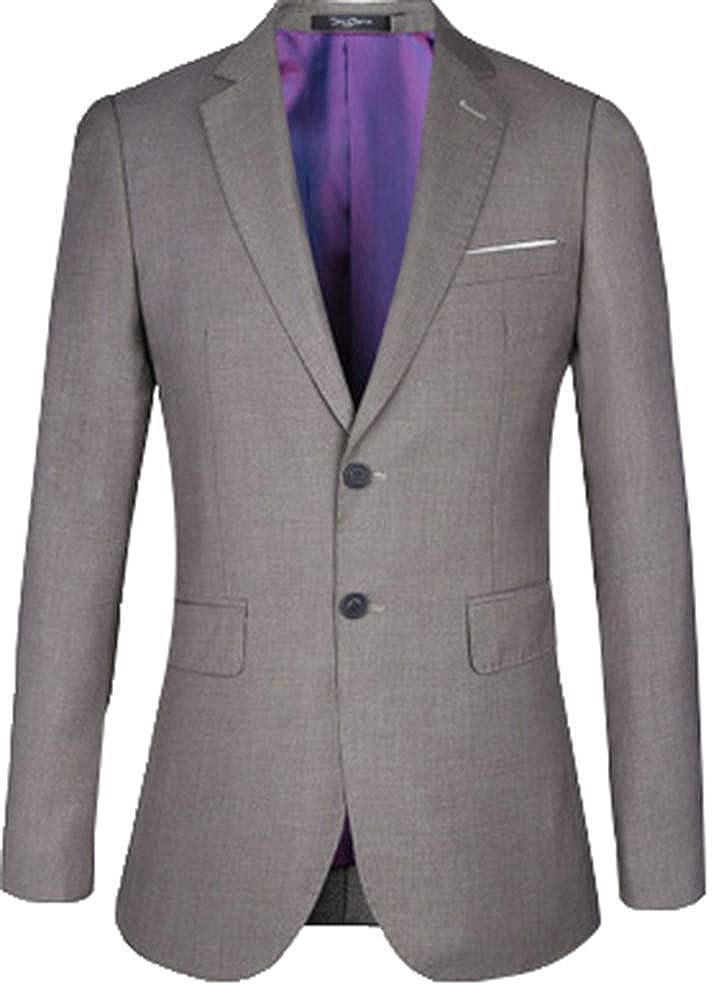 Herrenanzug 5ALL Herren Fit Slim Anzug Business Klassisch TFK1J3lc