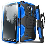 LG G Stylo Case, Evocel [Generation Series] Belt Clip Holster, Kickstand, HD Screen Protector, Dual Layer for LG G Stylo (LS770), Blue (EVO-LGLS770-AB02)
