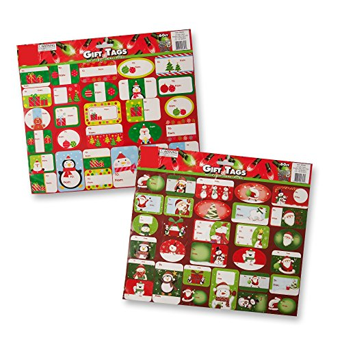 Christmas Gift Stickers assorted designs