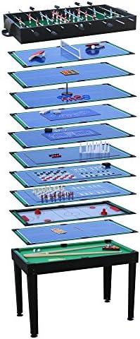 Juego Mesa Multi Game parte etisch billar futbolín Hockey 15 en 1 ...