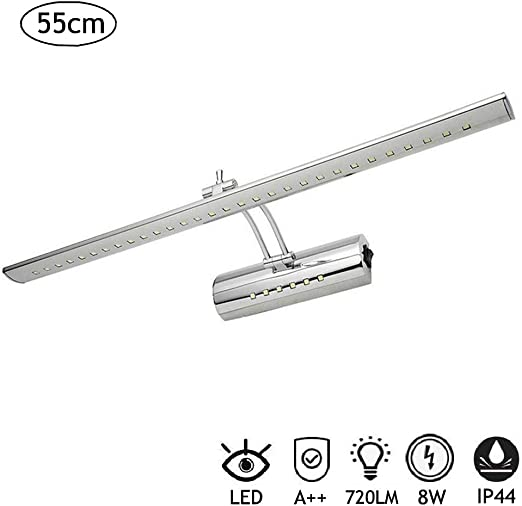 Projecteur lumineux Meuble de salle de bain miroir Shaver Socket Wall Fitting Lumière