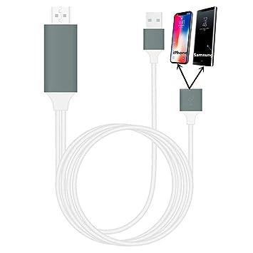 Rumfo - Adaptador de Pantalla USB a HDMI 1080P USB 3 en 1 para ...