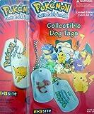 Chaine avec 2 médaillons pokémon dog tags