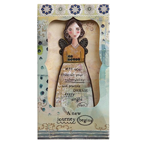 Kelly Rae Roberts Angel Ornament Card - TRUST YOUR JOURNEY