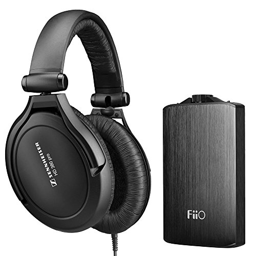 Sennheiser HD 380 Pro Collapsible High-End Headphone (w/A3 Amp) (Collapsible Sennheiser)