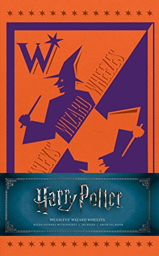 Harry Potter: Weasleys' Wizard Wheezes Hardcover Ruled Journal