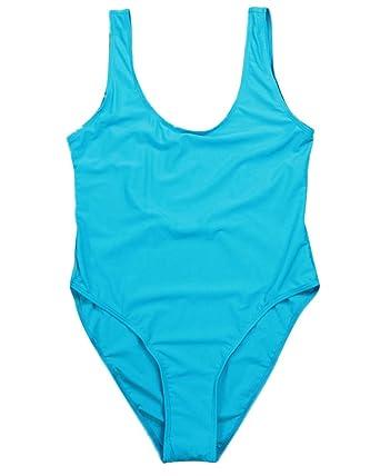 Femme Dos Nu Maillot de Bain Une Pièce Vintage Taille Haute Sling Bikinis Vert Armée L Approvisionnement En Vente Vente Trouver Grand Moins Cher HW4203M