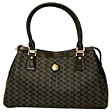 Aristo Black Large Dual Handle Bag by Rioni Designer Handbags & Luggage
